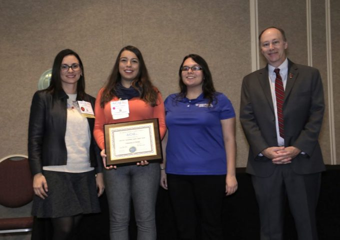 AIChE Outstanding Student  Chapter Award