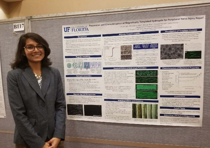 Singh Wins Third Place At The 2018 Graduate Student Research Day