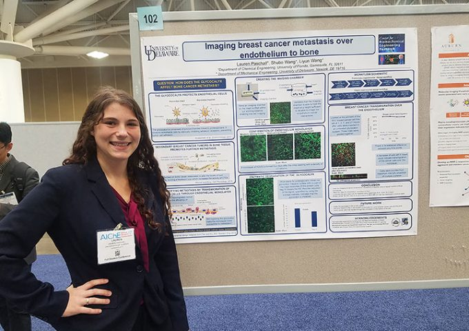 Lauren Paschall Wins First Place At AICHE 2017