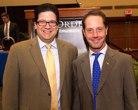 Alex Moreno Honored As UF Distinguished Alumnus