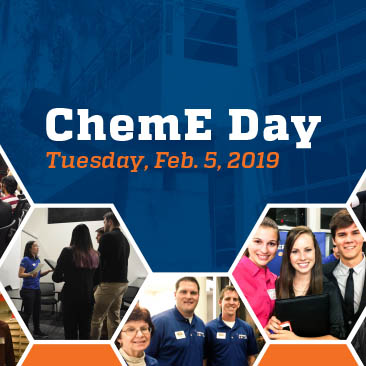 ChemE Day on Tuesday, Feb. 5