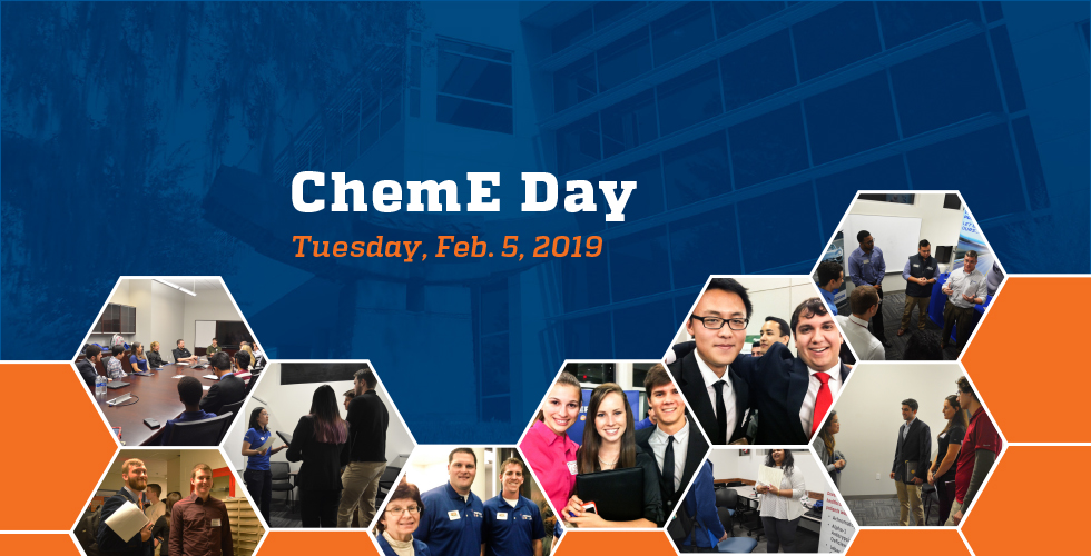 UF Department of Chemical Engineering hosts ChemE Day
