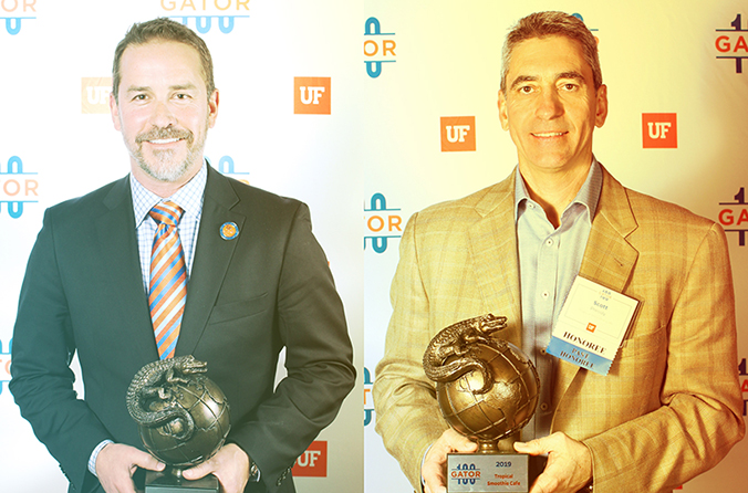 Two ChE Engineering Alumni Honored At 2019 Gator100