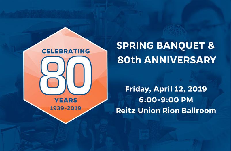 Spring Banquet & 80th Anniversary