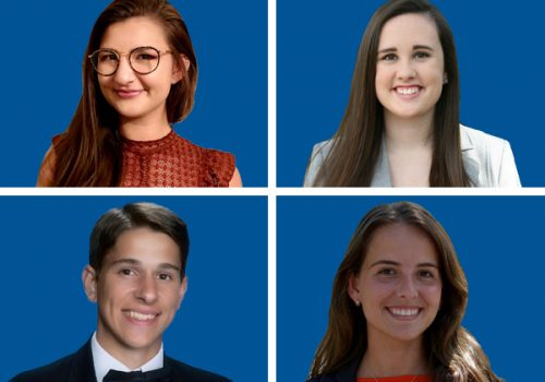 Four Chemical Engineering Students Selected As University Scholars