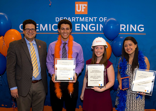The Department Of Chemical Engineering Celebrates Achievements At Spring Banquet