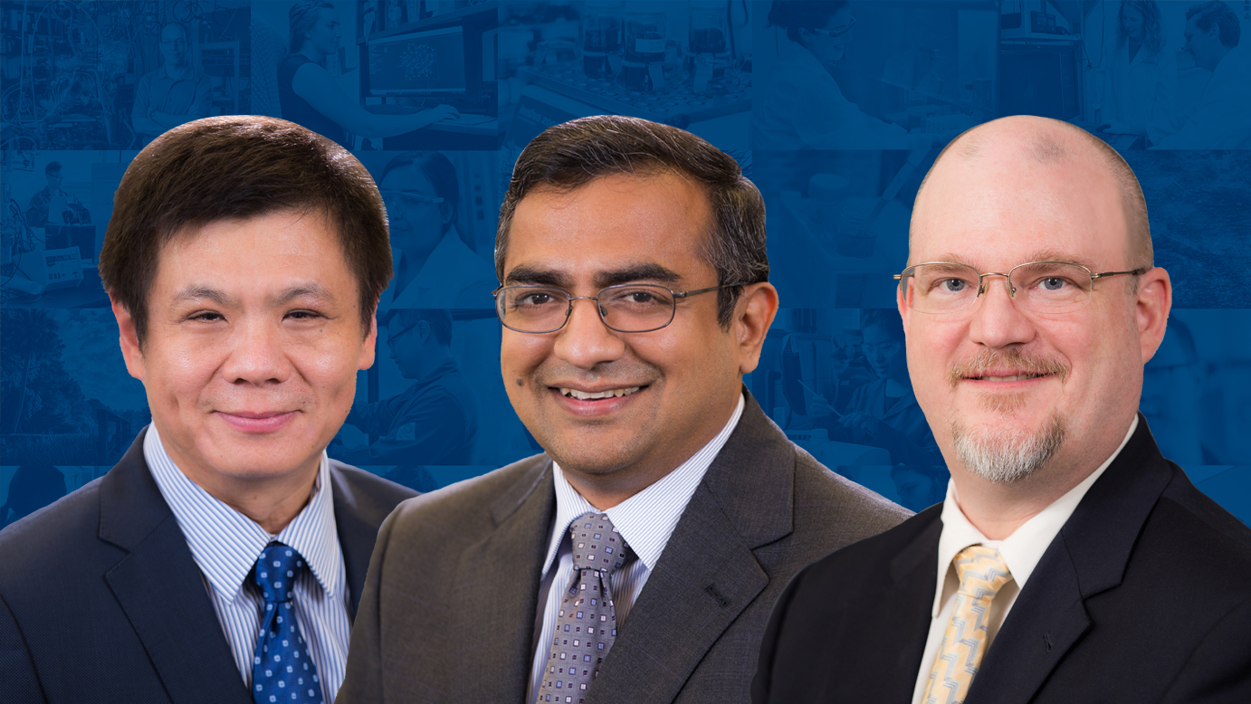 Peng Jiang, Tanmay Lele, and Kirk Ziegler Named UF Term Professors
