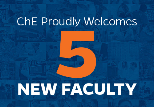 5 New Faculty