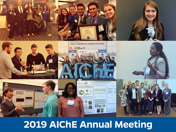 2019 AIChE Annual Meeting Travel Award Information