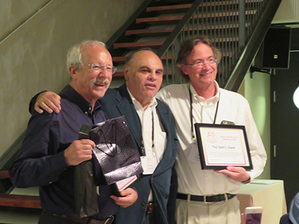 Left to right: Bernard Tribollet, Claude Gabrielli, and Mark Orazem